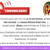 Comunicado – Missa de N.Sra do Perpétuo Socorro