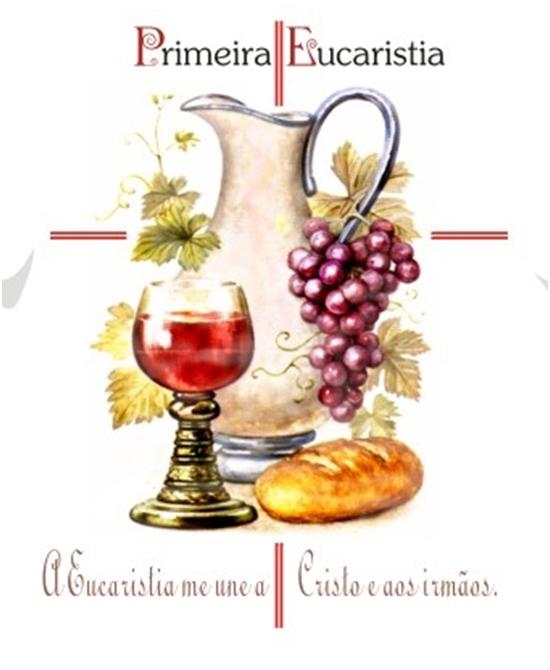 Convite Missa Da Primeira Eucaristia 2016 Paróquia Sant