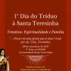 1º Dia do Tríduo à Sta. Teresinha