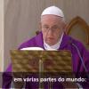 O Papa reza pelos presos e pensa nos pobres: neles Jesus se identifica