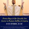Pe. João Carneiro presidirá a Santa Missa no dia 20 /09